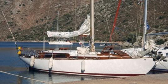 Classic Sailing model 1966 designed by Llingworth & Primrose