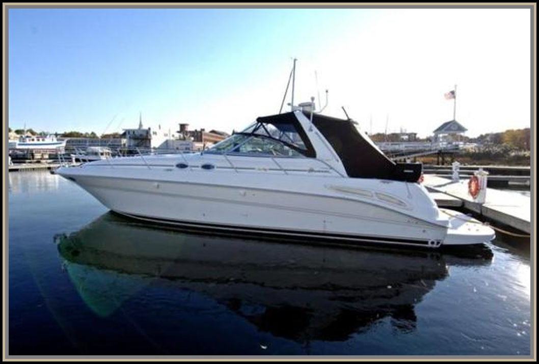 SeaRay 410 Sundancer model 2000