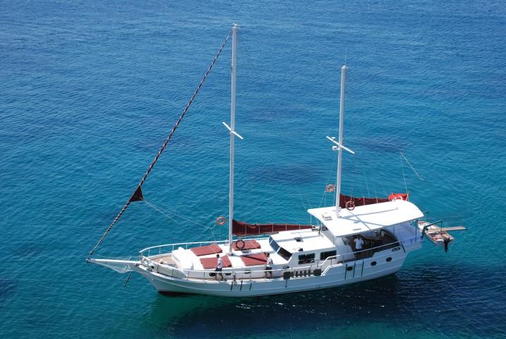 Blue Diamond / 20 m 4 cabin Gulet / model 2013