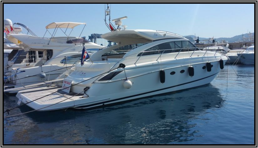 Princess V56 from 2010 by Bernard Olesiski