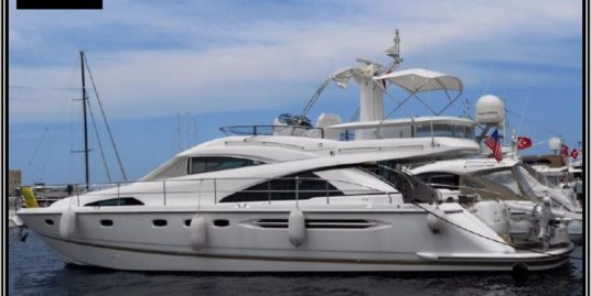 Fairline Squadron 58, from 2008,