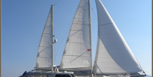 Motor-sailor 34 m with Full Rina Classification model 2007 (2010)
