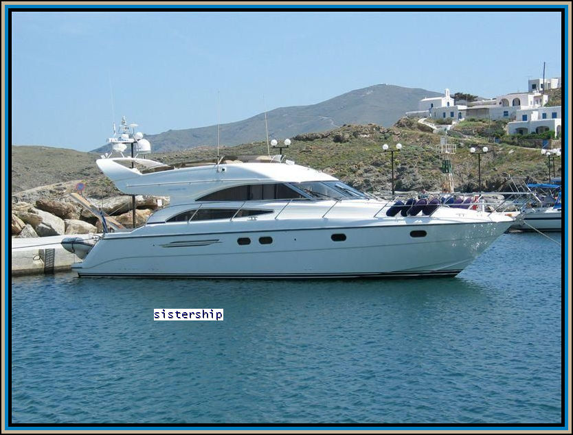 Princess 50 model 2002 designed by Olesinski