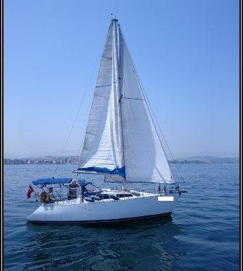 yelkenle seyir