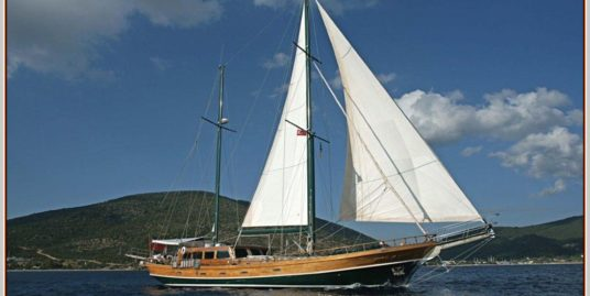 24 m  Gulet from 1994 by MERCAN boatyard