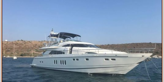 Fairline Squadron 74 – 2004 model –