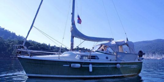 FİSKSATRA PARANT 25 – Swedish Built Motorsailor from 1978 –
