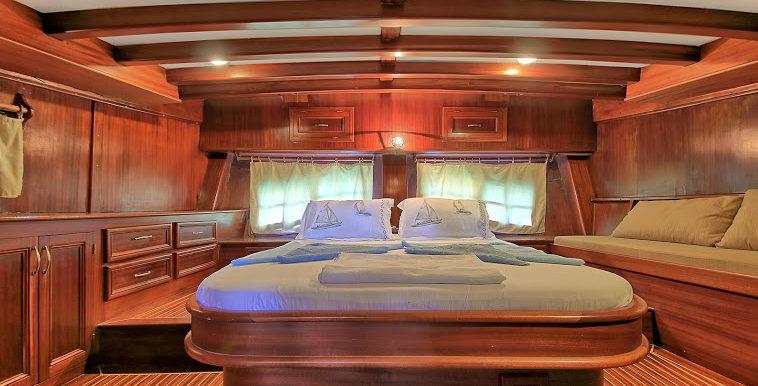 Gulet Master Cabin