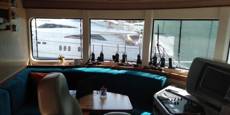 Helm Station 2 of Maestro 82′   2012