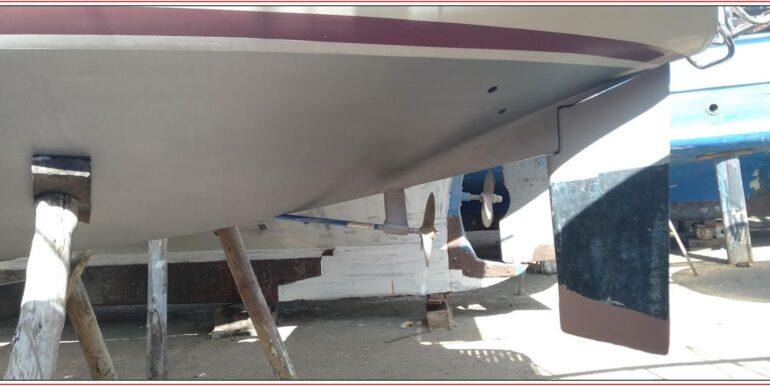 sigma 33 rudder and shaft