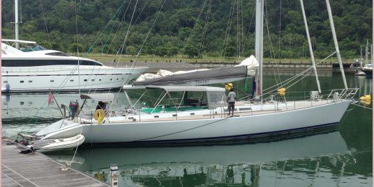 Aluminum 23 m sailing yacht from İtaly